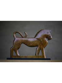 Lion Clan Totem by Jon Buck